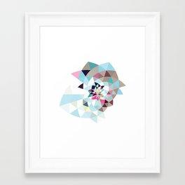 Datadoodle Shark Framed Art Print