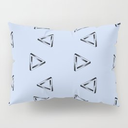 Impossible Triangles Pillow Sham