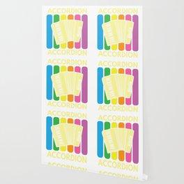 Accordion Melodeon Piano Accordion Retro Gift Idea Wallpaper