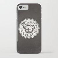 koala iPhone & iPod Cases featuring Koala by Ronan Lynam