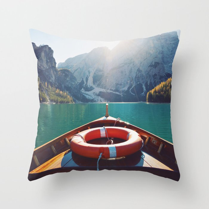 Live the Adventure Throw Pillow