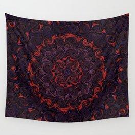 Swirling Mandala Wall Tapestry