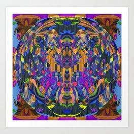 Psychedelic Essentials Trip Print 1 Art Print