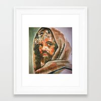 tyrion Framed Art Prints featuring Tyrion  by scott bratek