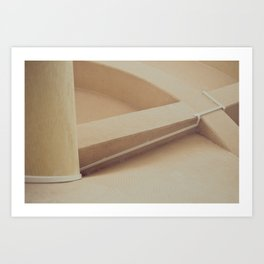 Stairs at Singapore Art Print