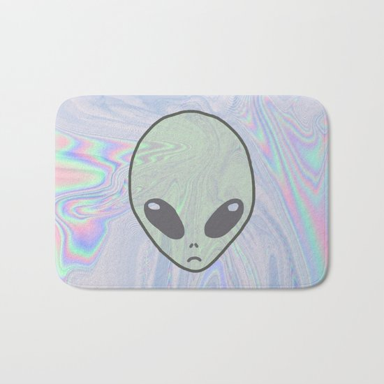 Alien Pastel Bath Mat
