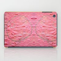 toilet iPad Cases featuring Smile on a pink toilet paper by Art Pass