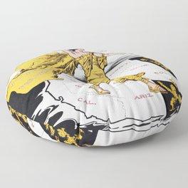 The Awakening - Women's Suffrage Illustration, 1915 Floor Pillow