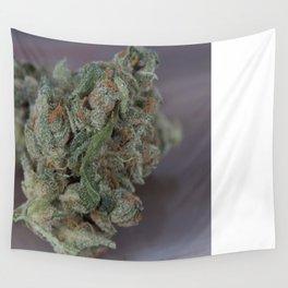 Close up macro of Dr. Who Medicinal Medical Marijuana Wall Tapestry
