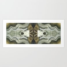 Desert Abyss 1 Art Print