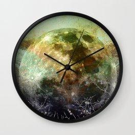 MOON under MAGIC SKY X-1 Wall Clock
