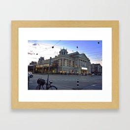 Concertgebouw Framed Art Print