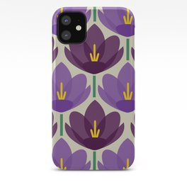 Crocus Flower iPhone Case
