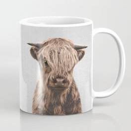 Highland Calf - Colorful Coffee Mug