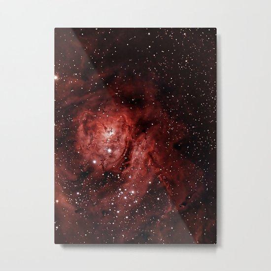 Lagoon Nebula Metal Print