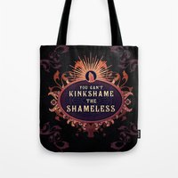 shameless Tote Bags featuring the Shameless One by Larrydraws