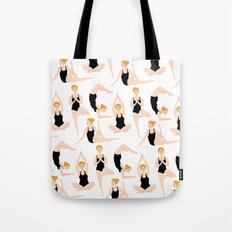 Yoga Girls Tote Bag