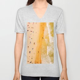 Summer beach day #society6 Unisex V-Neck