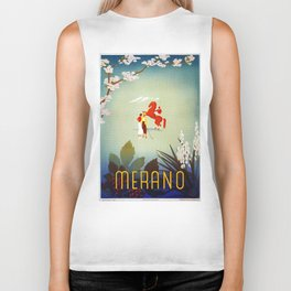 Horse riding, golf and tennis in 1920s Merano Biker Tank