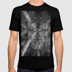 Looking Up - Mondesee Abbey, Salzburg SMALL Mens Fitted Tee Black
