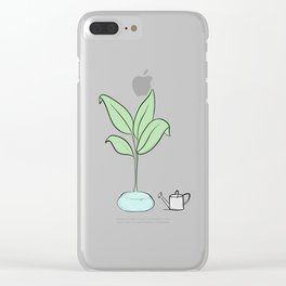 Oh, Plant. Clear iPhone Case