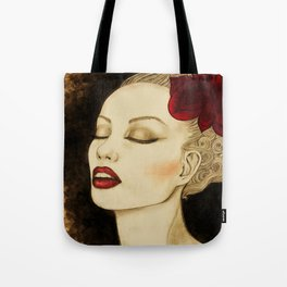 Jazzy girl Tote Bag