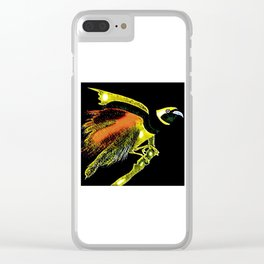 Bird of Paradise Clear iPhone Case