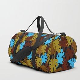 Monstera Leaves I Duffle Bag