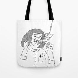 I Love True Crime - Feminine Version Tote Bag