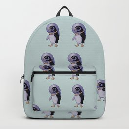 Galaxy Penguin Backpack