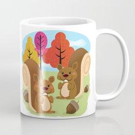 Let The Acorns Fall Coffee Mug
