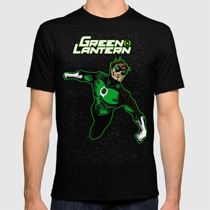 fe058a9f Green Lantern T-shirt by metalot | Society6