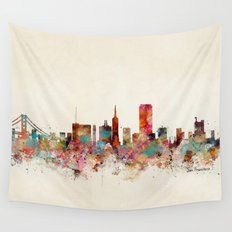 san francisco california Wall Tapestry