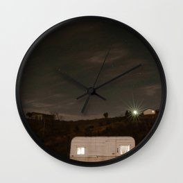 Happy Glamper Wall Clock