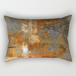 Rust Texture 72 Rectangular Pillow