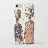 zombies iPhone & iPod Cases featuring Zombies! by Peerro
