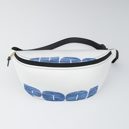 Bye School Hello Pool Summer Vacation print and Gift Fanny Pack