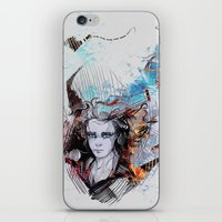 fifth element iPhone & iPod Skins featuring Element by Ryky