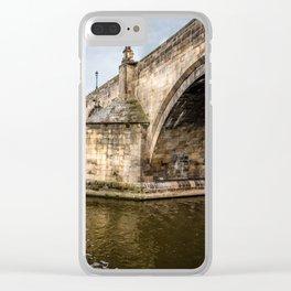 Charles Bridge in Prague Clear iPhone Case
