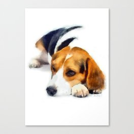 Beagle Bailey Canvas Print