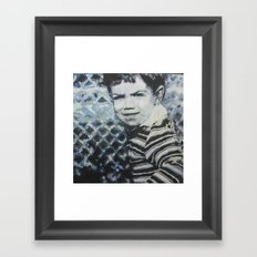 Blue Thomas Framed Art Print