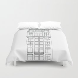 Don't Forget to Look Up by the Downtown Doodler Duvet Cover