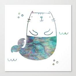 MerKitty Ocean Seashell Canvas Print