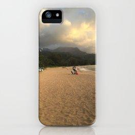 Hanalei Bay iPhone Case