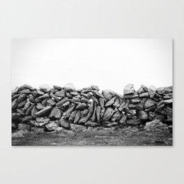 stonewalls Canvas Print