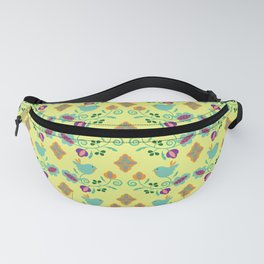 Cute Birds on Branches Fanny Pack
