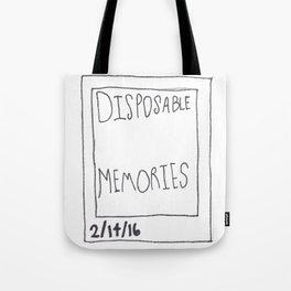 Disposable Memories Tote Bag