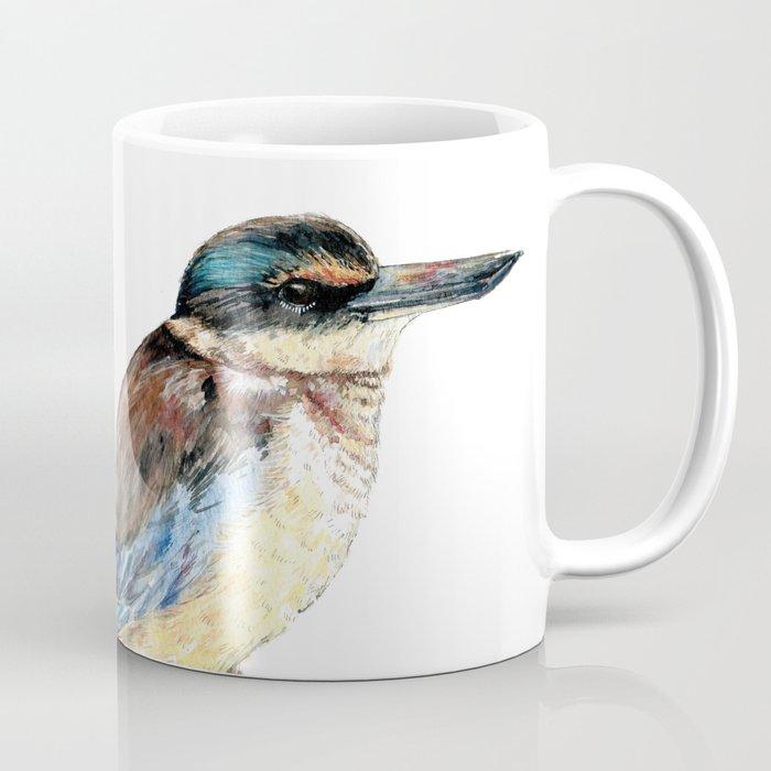 Mr Kōtare, New Zealand native kingfisher bird Coffee Mug