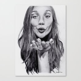 Maddie Ziegler Canvas Print
