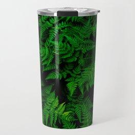 Deep Forest Ferns Travel Mug